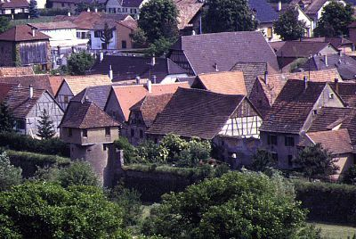 Bergheim : remparts Nord